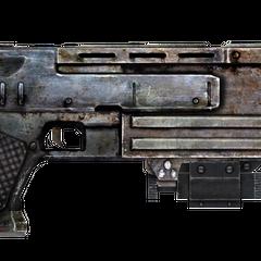 10-мм пістолет з лазерним прицілом.