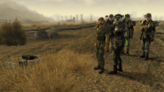 FNV Unfriendly Persuasion mercenaries camp