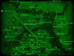 FO4 Прачечная Чарльзтауна (карта мира)