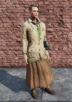 FO76 Golf Skirt Female