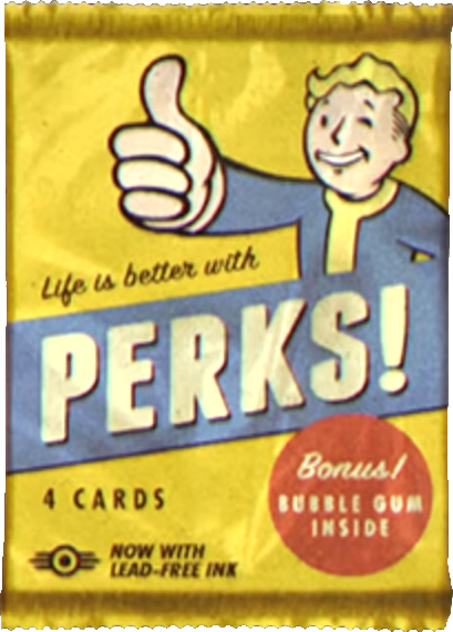 Fo76 perk card pack