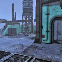 Power armor location