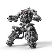 Sentry Bot Render Without Armor Frontal 3Quarter View