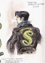 Serpientes de túnel por Adam