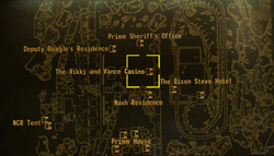 Vikki and Vance Casino local map