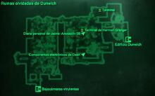 ED - Ruinas olvidadas de Dunwich mapa local
