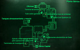 Esp PNC Planta fábrica Mapa Loc