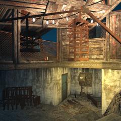 Двері в технічні тунелі «Ядер-Світу»