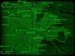 FO4 Поместье Хоторнов (карта мира)