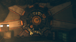 FO76WL Vault 79 door close view