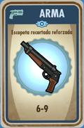 FOS Escopeta recortada reforzada carta