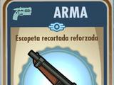 Escopeta recortada reforzada