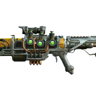 The plasma scattergun variant with a scope