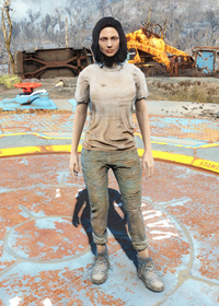 Fo4Undershirt and Jeans