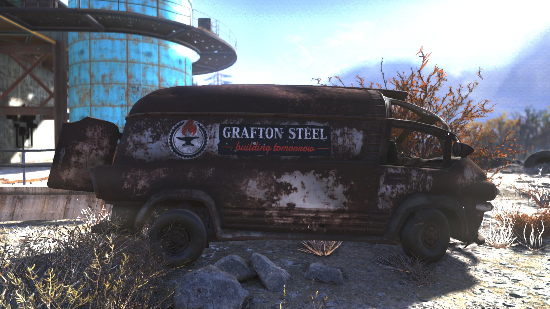 Grafton Steel truck