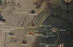 Pumpkin House map
