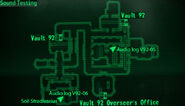 Vault 92 sound testing loc map
