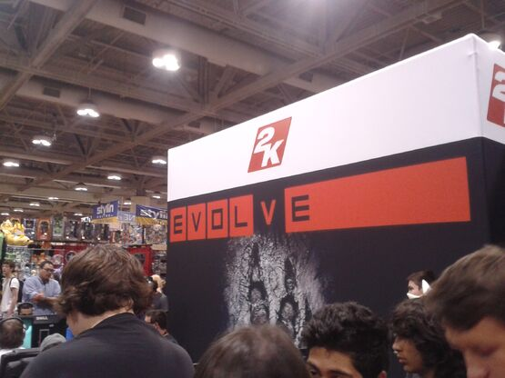 2K Games and Evolve at Fan Expo