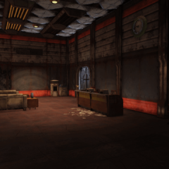 Western lobby interior