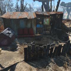Будиночок торговця кошатиной на південно-сході локації