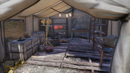 FO76 Firebase LT (weapons crafting stations)