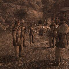 1-й розвідбат в таборі Форлорн-Хоуп.