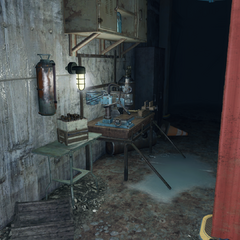 [[Weapons workbench (Fallout 4)|]] area