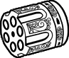 .357 magnum revolver HD cylinder icon.png