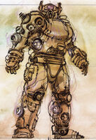 Enclave power armor CA4