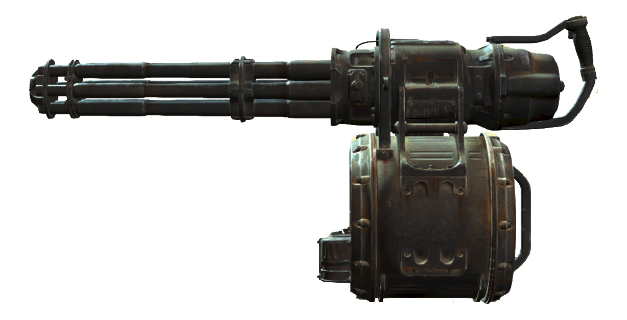 Minigun Fallout 4 Fallout Wiki Fandom Powered By Wikia