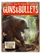 Guns and bullets bears cover