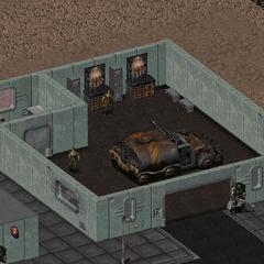 Будівля технічного обслуговування, у якому Обраний може отримати креслення винтокрылов