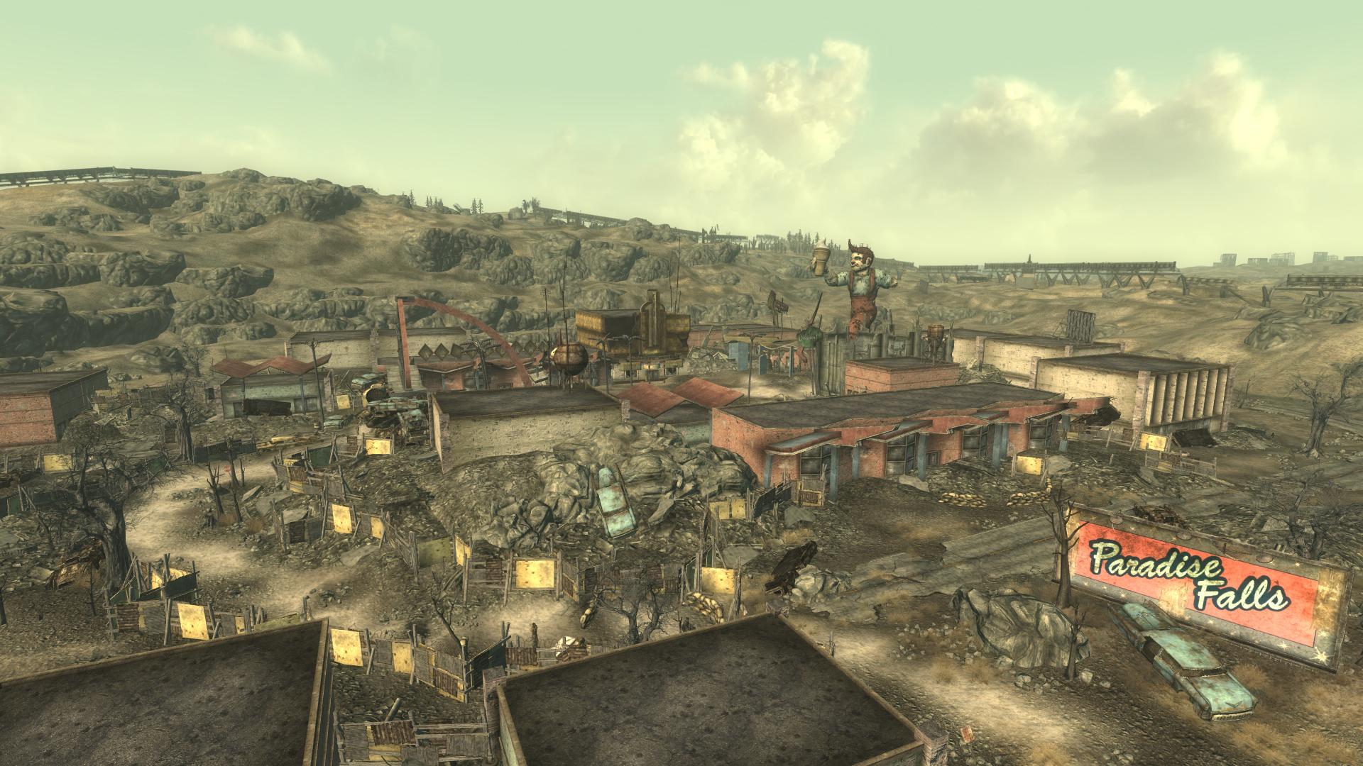 fallout 3 free slavers paradise falls