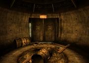 Puerta bunker Fuerte