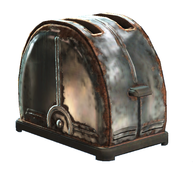 Toaster (Fallout 4) | Fallout Wiki | FANDOM powered by Wikia | {Toaster 61}