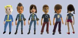 XBL Fallout 3 avatar items