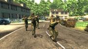 Chińska armia w tranquility lane