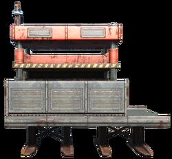 Explosives mill