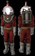 FNV ArmorNVSpaceSuit + HelmetNVSpaceSuit