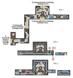 FO4 C.I.T. ruins (map)