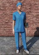 FO76 Medical Scrubs Full Female