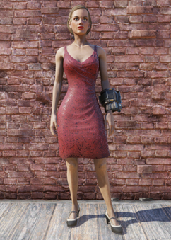FO76 Red Dress