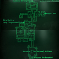 Fo3 National Archives SW East map.png