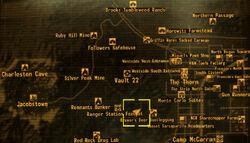 Hidden Cazador Nest loc
