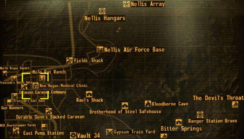 New Vegas medical clinic | Fallout Wiki | Fandom