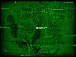FO4 Лодочный домик Таффингтона (карта мира)