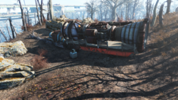 FO4 ArcJet engine transport