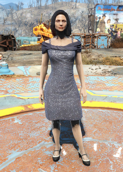 Fo4 sequin-agatha dress