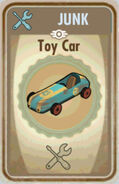 FoS Toy car Card
