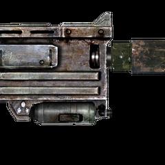 10-мм пістолет з глушником.